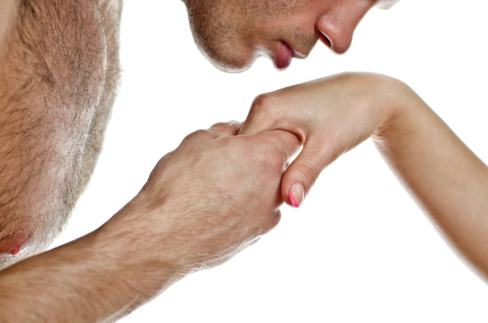 Cross-cultural communication : Hand kiss cultural stereotype