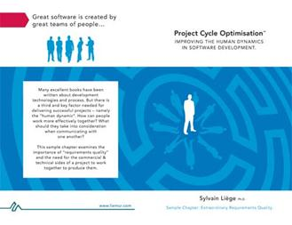 Project Cycle Optimisation book