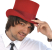 Red Thinking Hat